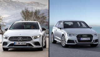 Mercedes Clase A 2018 vs Audi A3