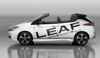 Nissan Leaf Open Car Concept