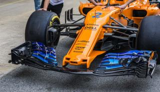 Nuevo alerón McLaren F1