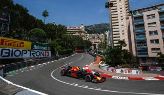 Pole de Ricciardo en Mónaco