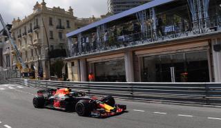Ricciardo durante los Libres 2 de Mónaco