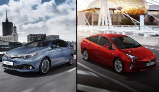 Toyota Prius vs Toyota Auris Hybrid