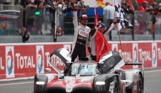Alonso, con el Toyota TS050 Hybrid