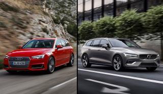 Audi A4 Avant vs Volvo V60 2018