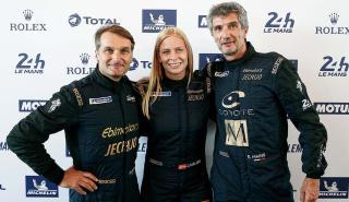 Christina Nielsen, única mujer piloto en Le Mans 2018