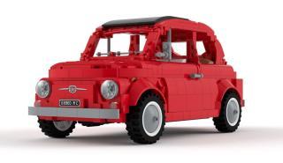 Fiat 500 LEGO Ideas