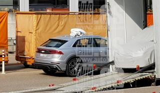 Foto espía Audi RSQ8