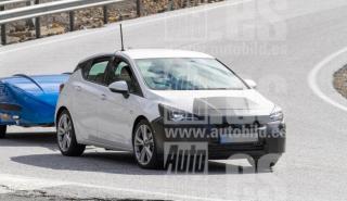 Fotos espía Opel Astra 2019