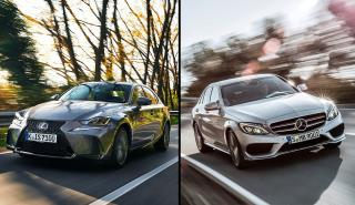 Mercedes Clase C 2018 vs Lexus IS