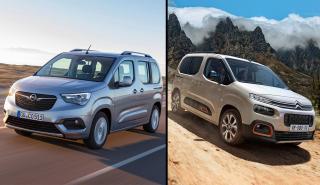 Opel Combo vs Citroën Berlingo