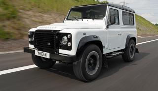 Prueba del Land Rover Works V8