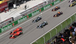 Salida GP F1