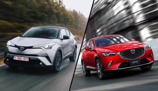 Toyota C-HR vs Mazda CX-3