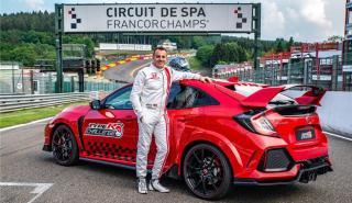 El Type R Challenge 2018 llega a Eau Rouge
