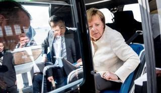 Angela Merkel Volkswagen SEDRIC Concept