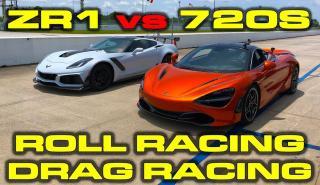 ¿Puede un Corvette ZR1 destronar al McLaren 720S?