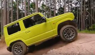 Suzuki Jimny 4x4 2019, a tope