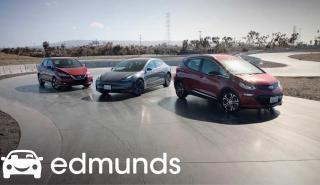 Tesla Model 3, Nissan Leaf y Chevrolet Bolt