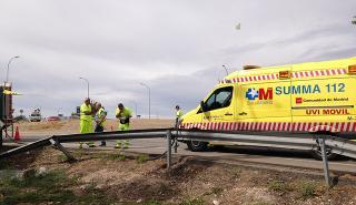 Ambulancia accidente de tráfico