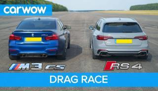 Audi RS4 VS BMW M3 CS
