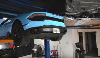 cambio de aceite Lamborghini Huracán