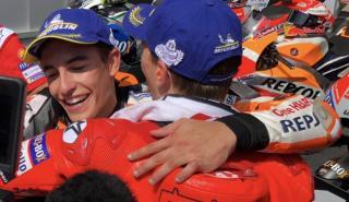 Deportividad entre Márquez y Lorenzo tras su duelo en Austria