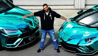 Lamborghini Urus vinilado