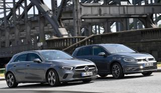 Mercedes Clase A vs Volkswagen Golf