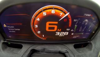 aceleración McLaren 720S