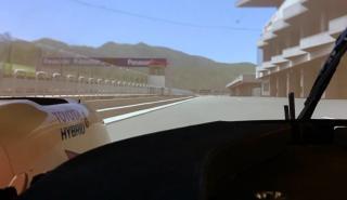 Alonso en el simulador de Fuji