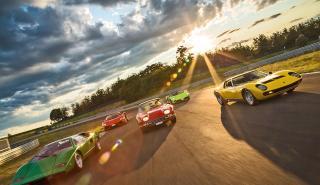 amborghini Countach LP 400, Aventador LP 700-4 Roadster, 350 GT, Gallardo LP 560-4 Spyder, Miura P 400 SV