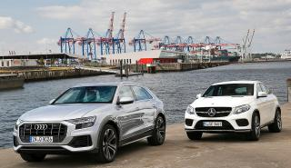 Audi Q8 vs Mercedes GLE Coupé