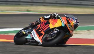 Brad Binder lidera la Clasificación Moto2 Aragón 2018