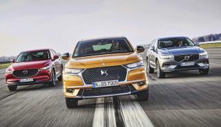 Comparativa DS7, Mazda CX5, Volvo XC60