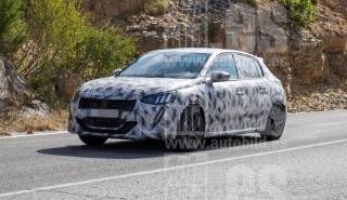 Fotos espia Peugeot 208 2019