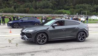 Lamborghini Urus carreras aceleracion