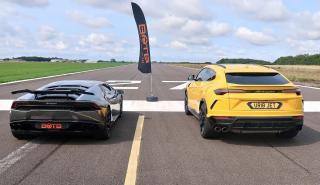 Lamborghini Urus contra Lamborghini Huracan