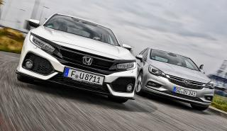 Opel Astra vs Honda Civic