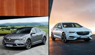 Renault Talisman 2018 vs Opel Insignia
