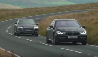 BMW Serie 7 vs Audi A8