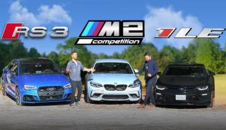 Chevrolet Camaro SS, Audi RS3 o BMW M2 Competition
