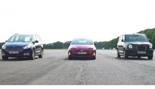 Drag Race taxi eléctrico