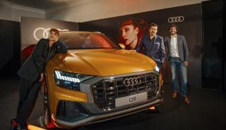 """Estreno en Madrid de """"La octava dimensión"""", con el nuevo Audi Q8 como protagonista"""