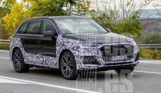 Fotos espia Audi SQ7 2019