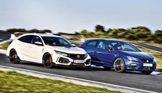 Honda Civic Type R vs Seat Leon SC Cupra
