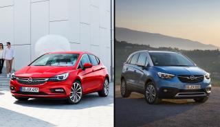 Opel Astra vs Opel Crossland X