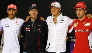 Pilotos campeones F1