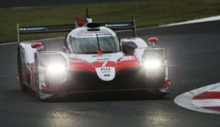 Toyota 7 victoria en Fuji