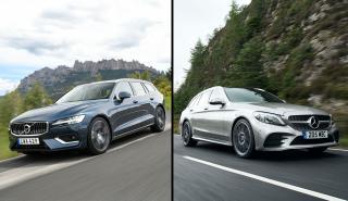 Volvo V60 2019 vs Mercedes Clase C Estate 2018