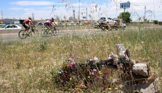 Memoriales en carreteras